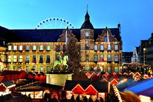 Weihnachtsmarkt Düsseldorf Eröffnung.Weihnachtsmarkt Düsseldorf Düsseldorf